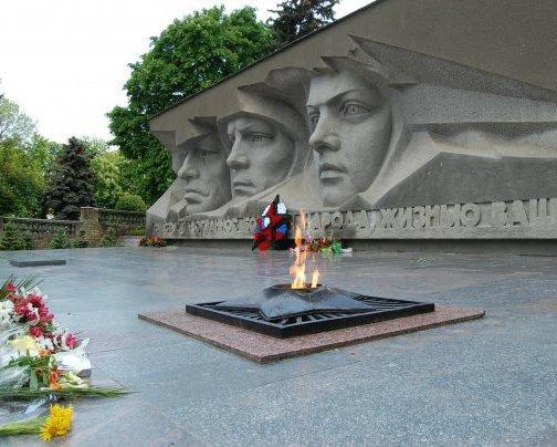 В краевом центре состоялось открытие мемориала «Огонь вечной славы»