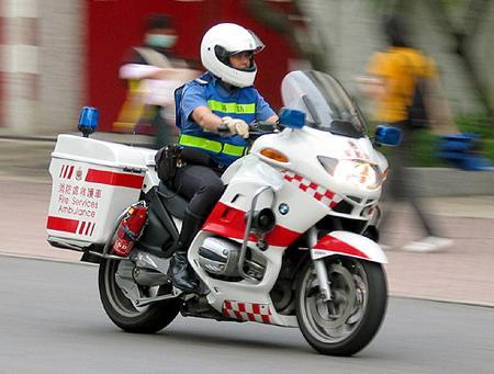 В российских регионах создается мотоциклетная служба скорой помощи