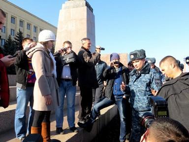 В краевом центре пройдет митинг в поддержку Украины