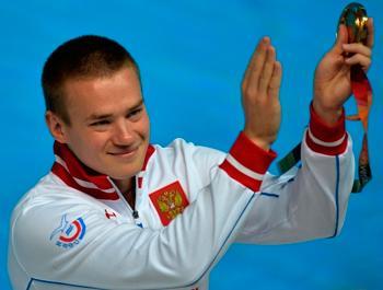 Евгений Кузнецов завоевал два золота на этапе Мировой серии
